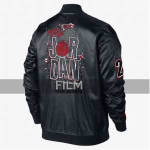 Air Jordan Marvin The Martian Biker Bomber Jacket