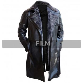 Blade Runner 2049 Movie Ryan Gosling Fur Leather Coat