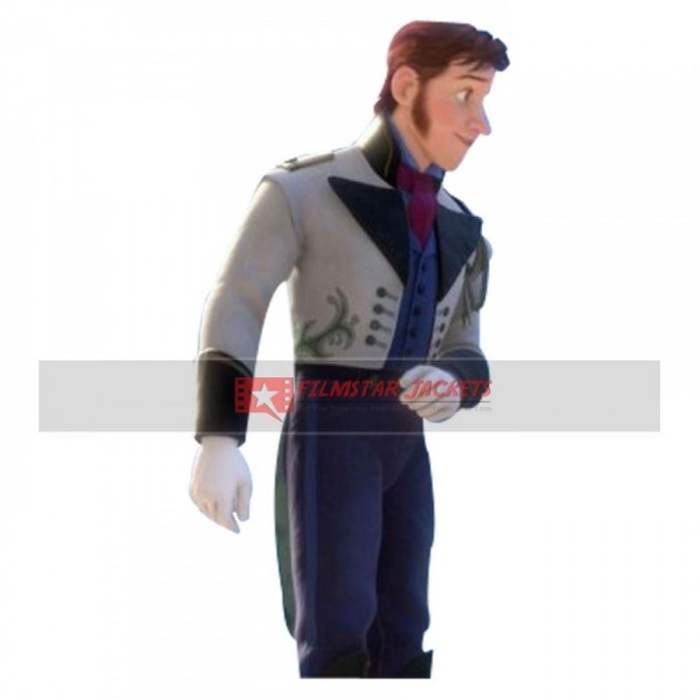 Frozen Hans Westergard Costume Replica Jacket