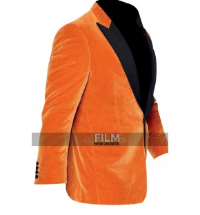 Kingsman The Golden Circle Gary Eggsy Unwin Orange Tuxedo