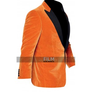 Kingsman The Golden Circle Gary Eggsy Unwin Orange Tuxedo