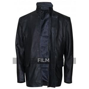 Grudge Match Robert De Niro Black Leather Jacket