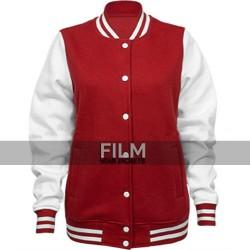 Harley Quinn Letterman Varsity Bomber Jacket