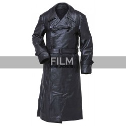 Hellboy Karl Ruprecht Kroenen Black Costume Coat