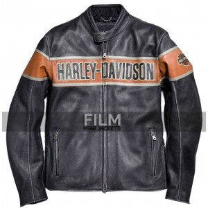 Men's Victory Harley Davidson Leather Jacket