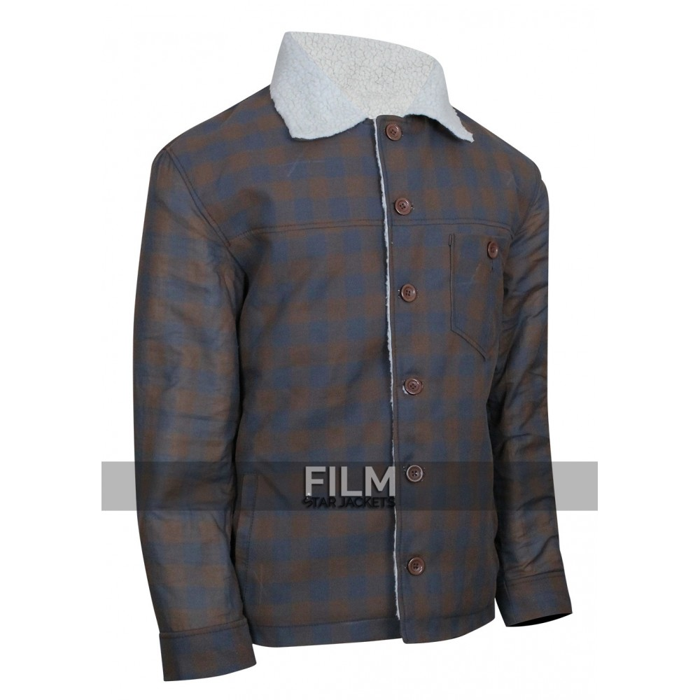 Ryan Gosling Nice Guys Set Los Angeles Shearling Jacket