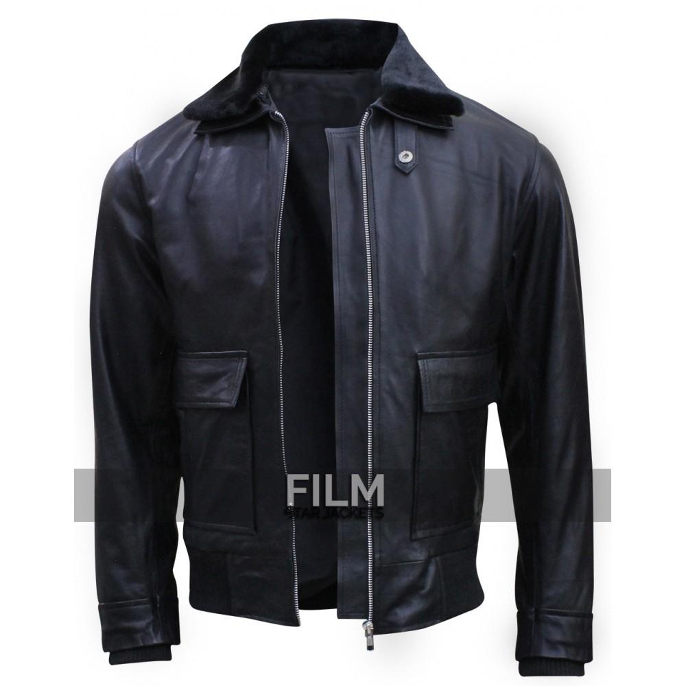 Star Trek Beyond Simon Pegg Fur Collar Jacket