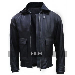 Star Trek Beyond Simon Pegg Fur Collar Jacket
