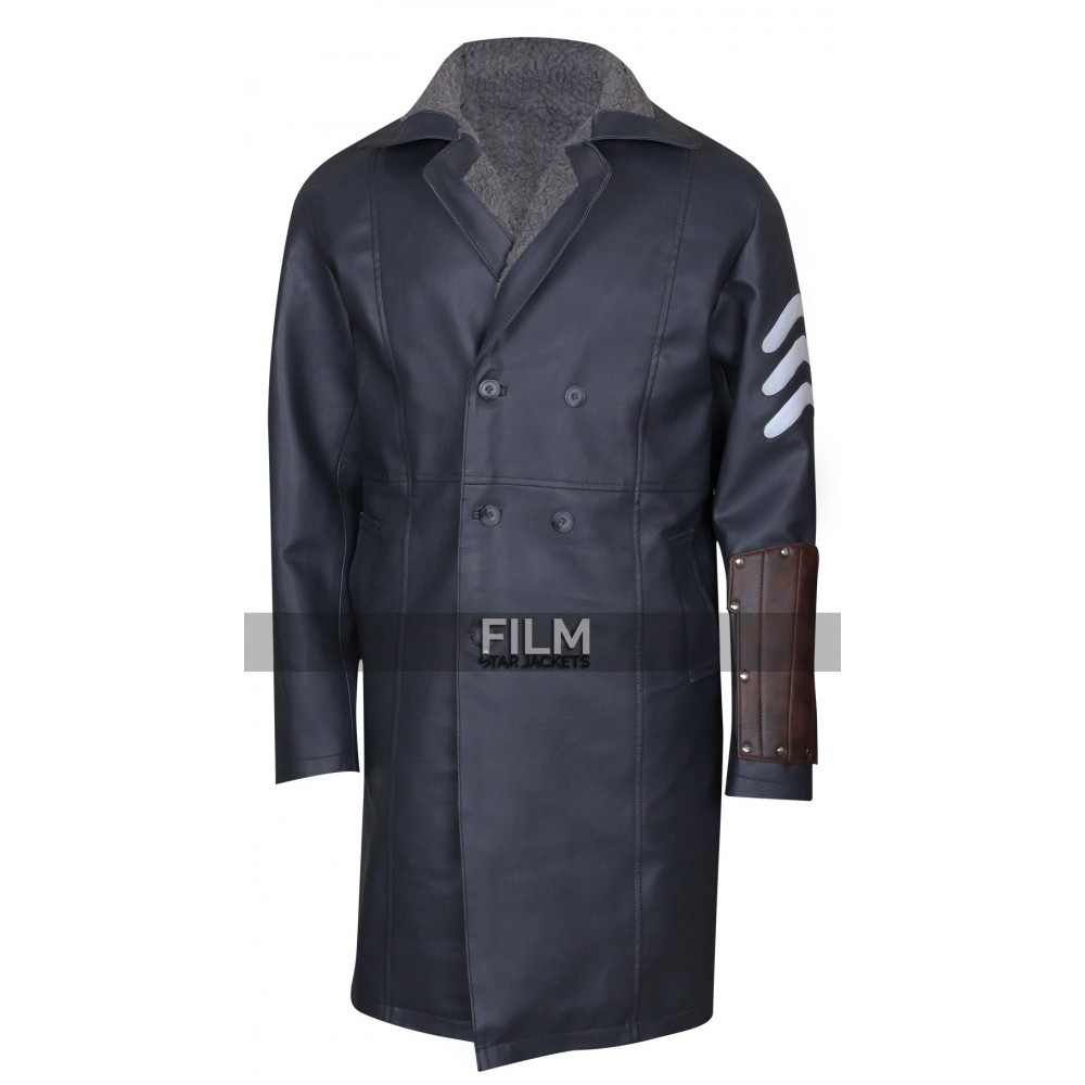 Suicide Squad Captain Boomerang Bomber Trench Coat