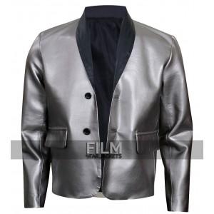 Suicide Squad Joker Jared Leto Silver Costume Jacket