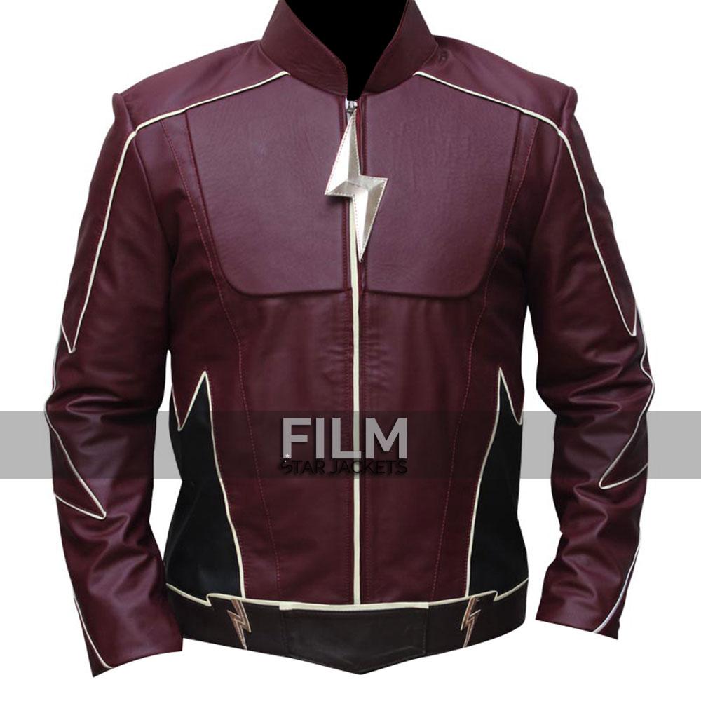 The Flash Jay Garrick Cosplay Leather Jacket