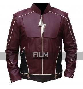 The Flash Jay Garrick Cosplay Leather Jacket