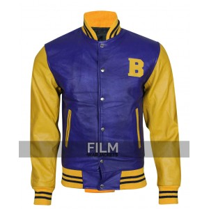 Wolf Michael J Fox Bomber Costume Jacket