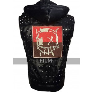 Watch Dogs 2 Game Wrench Studded Cosplay Black Vest