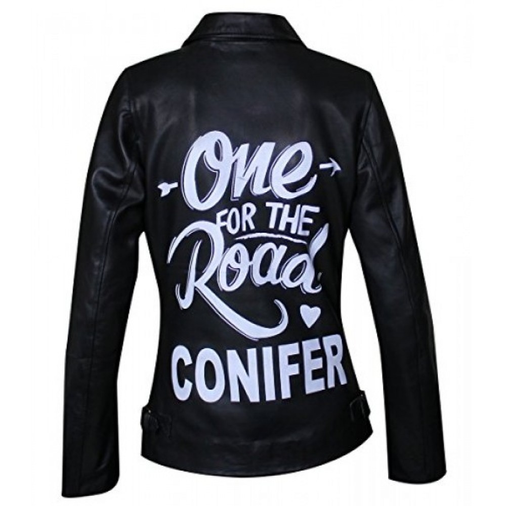 One For The Road Arctic Monkeys Conifer Balck Leather Jacket