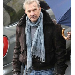 3 DAYS TO KILL KEVIN COSTNER BROWN JACKET