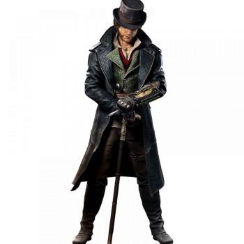 Assassin's Creed Jacob Frye Costume Leather Coat