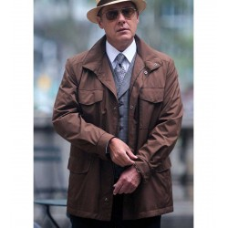 BLACKLIST RAYMOND REDDINGTON BROWN COAT