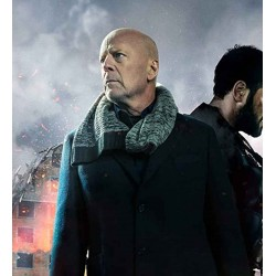 HARD KILL BRUCE WILLIS BLACK COAT