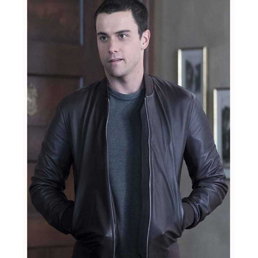 HOW TO GET AWAY WITH MURDERER JACK FALAHEE JACKET