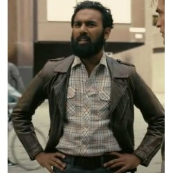 TENET HIMESH PATEL BIKER LEATHER JACKET