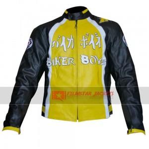 Biker Boyz Derek Luke Yellow Biker Jacket