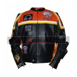 Marlboro Man Inspired Leather Biker Jacket