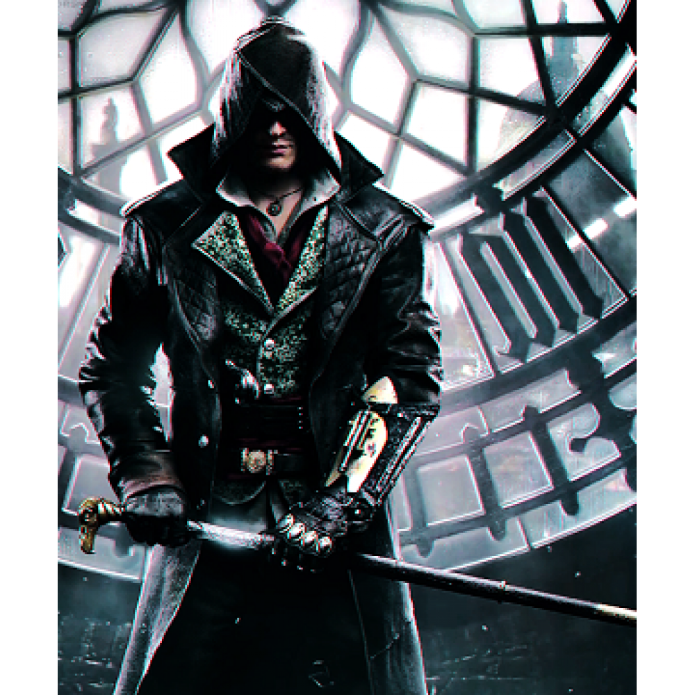 Assassin's Creed Jacob Frye Costume Leather Coat