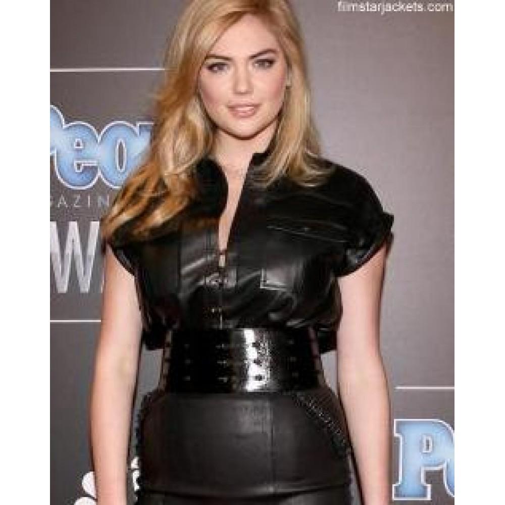 Kate Upton Black Gorgeous Women Award Jacket