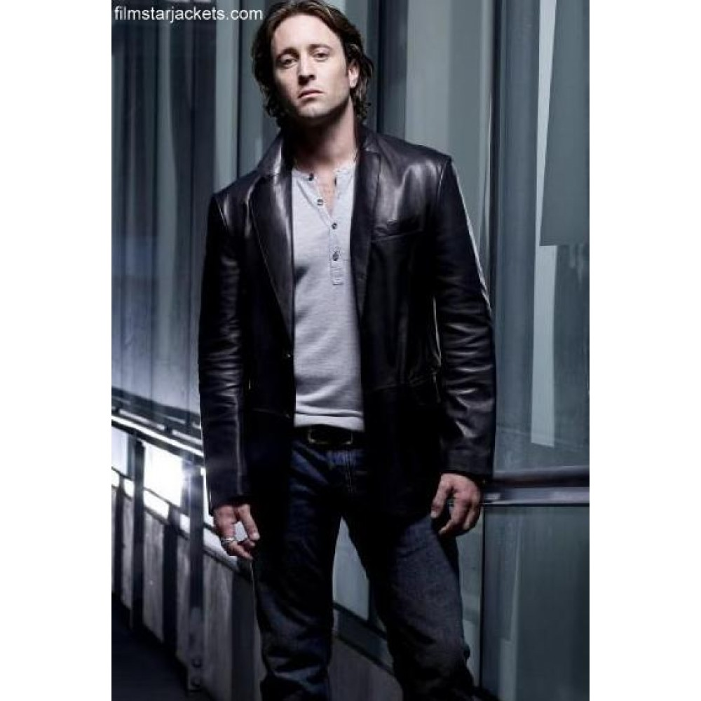 Moonlight Mick John (Alex O'Loughlin) Jacket