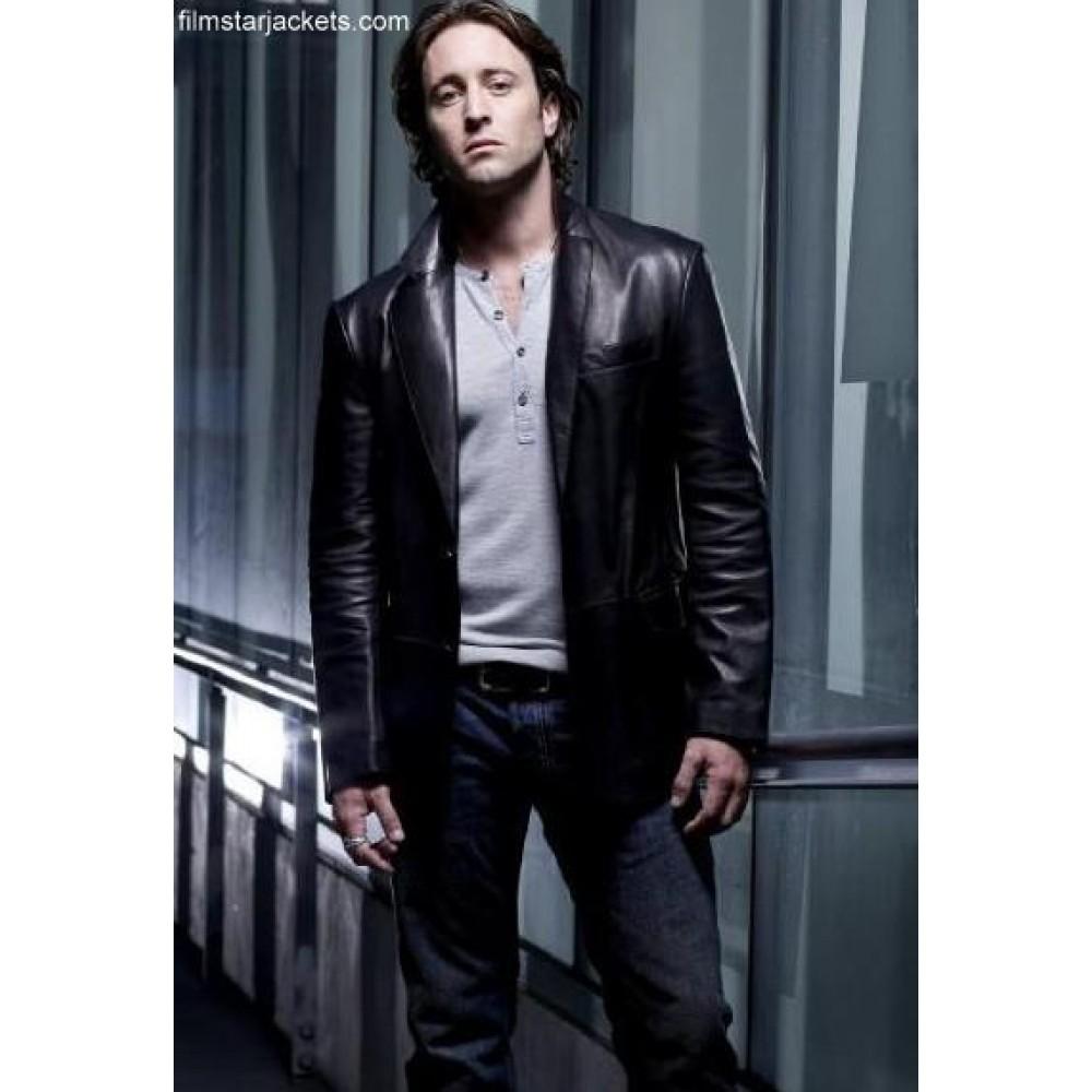 Moonlight Mick John (Alex O'Loughlin) Jacket
