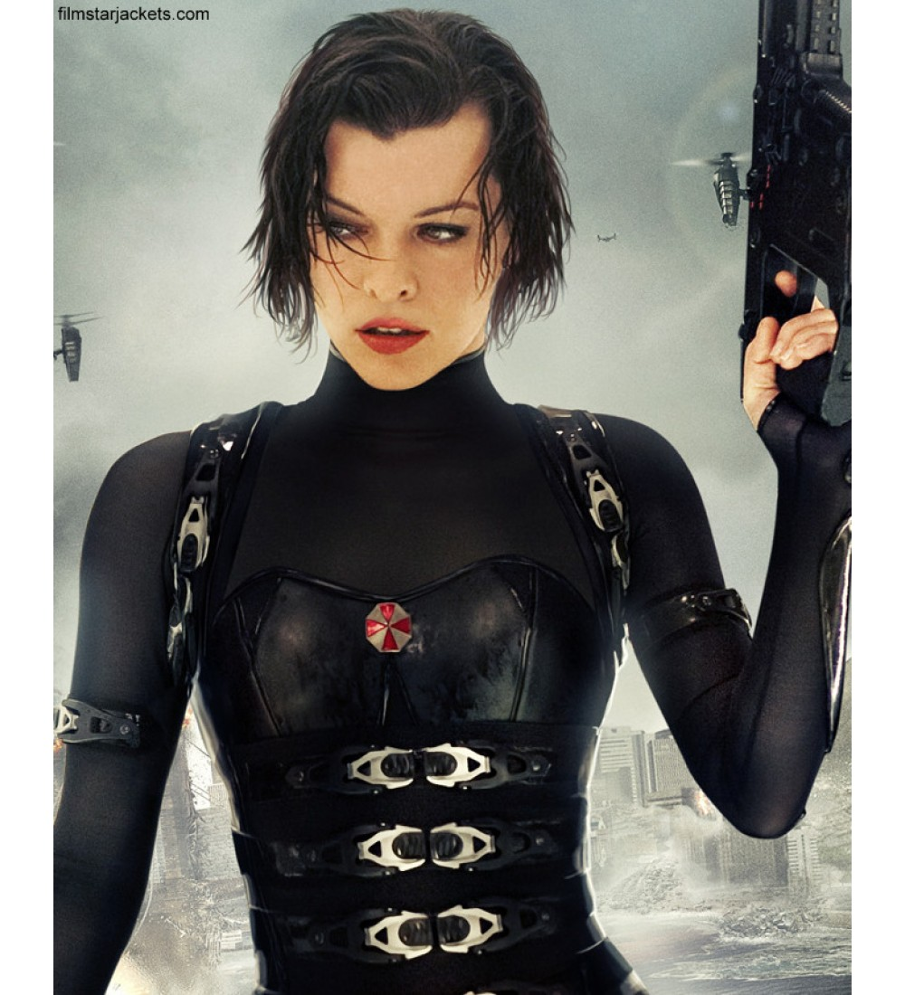 milla jovovich resident evil retribution costume