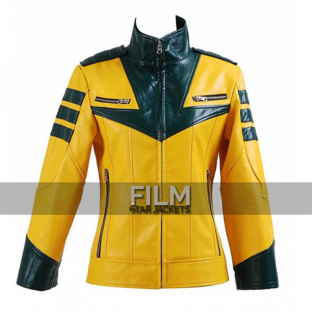 Space Battleship Yamato Yuki Mori Cosplay Yellow Jacket