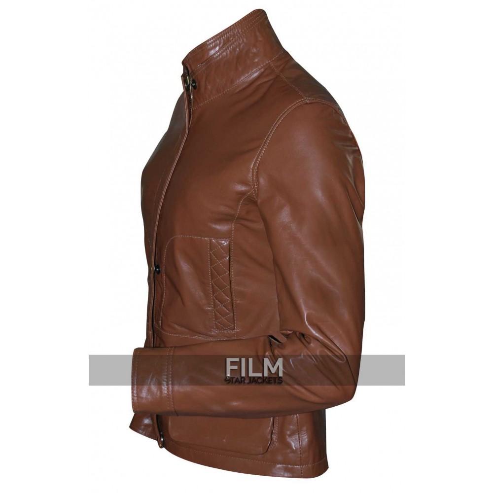 SVU Olivia Benson (Mariska Hargitay) Brown Jacket