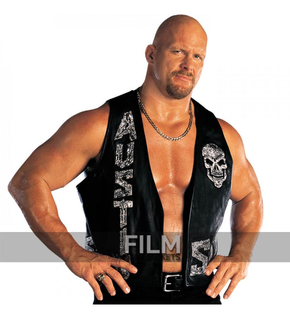Stone Cold Steve Austin : Stone cold steve austin wwe skull vest