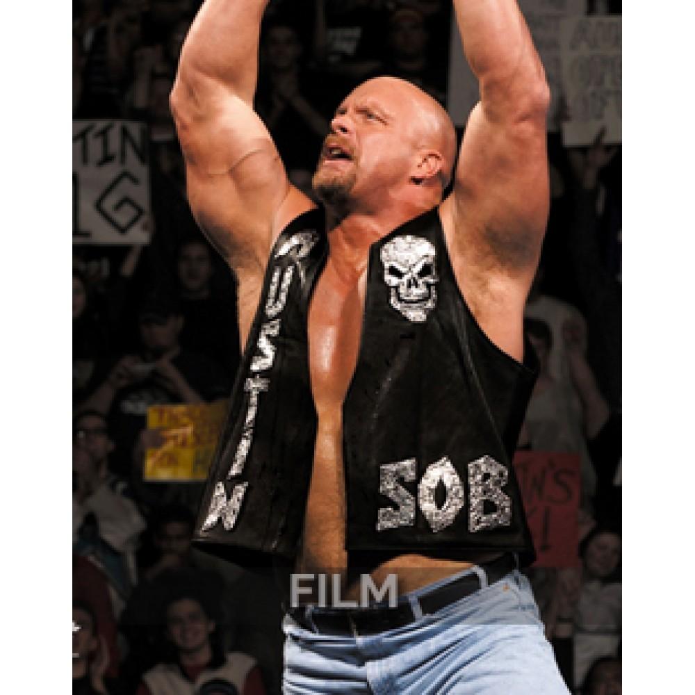 Stone Cold Steve Austin WWE Skull Vest