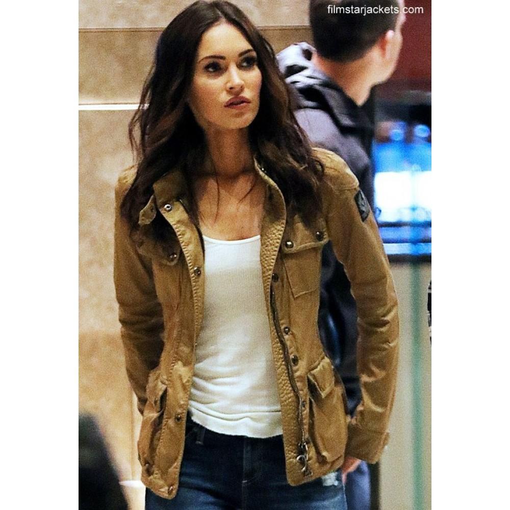 Teenage Mutant Ninja Turtles Half Shell Megan Fox Jacket