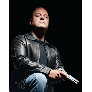 The Shield Vic Mackey (Michael Chiklis) Black Jacket