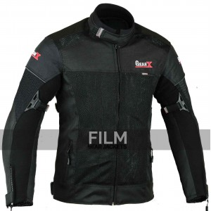 Gearx Air-Vent Motorcycle Leather Jacket