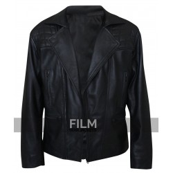 James Marsden D Train Oliver Lawless Biker Jacket