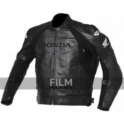 Superhawk Honda Joe Rocket Black Leather Jacket