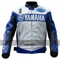 Yamaha Champion Joe Rocket Superbike Blue Jacket