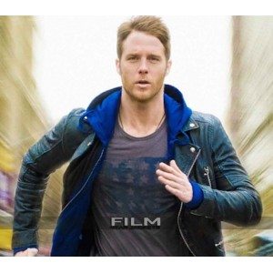 Limitless Brian Finch (Jake McDorman) Black Jacket