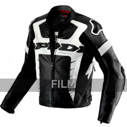 Spidi Warrior Pro Motorcycle Leather Jacket