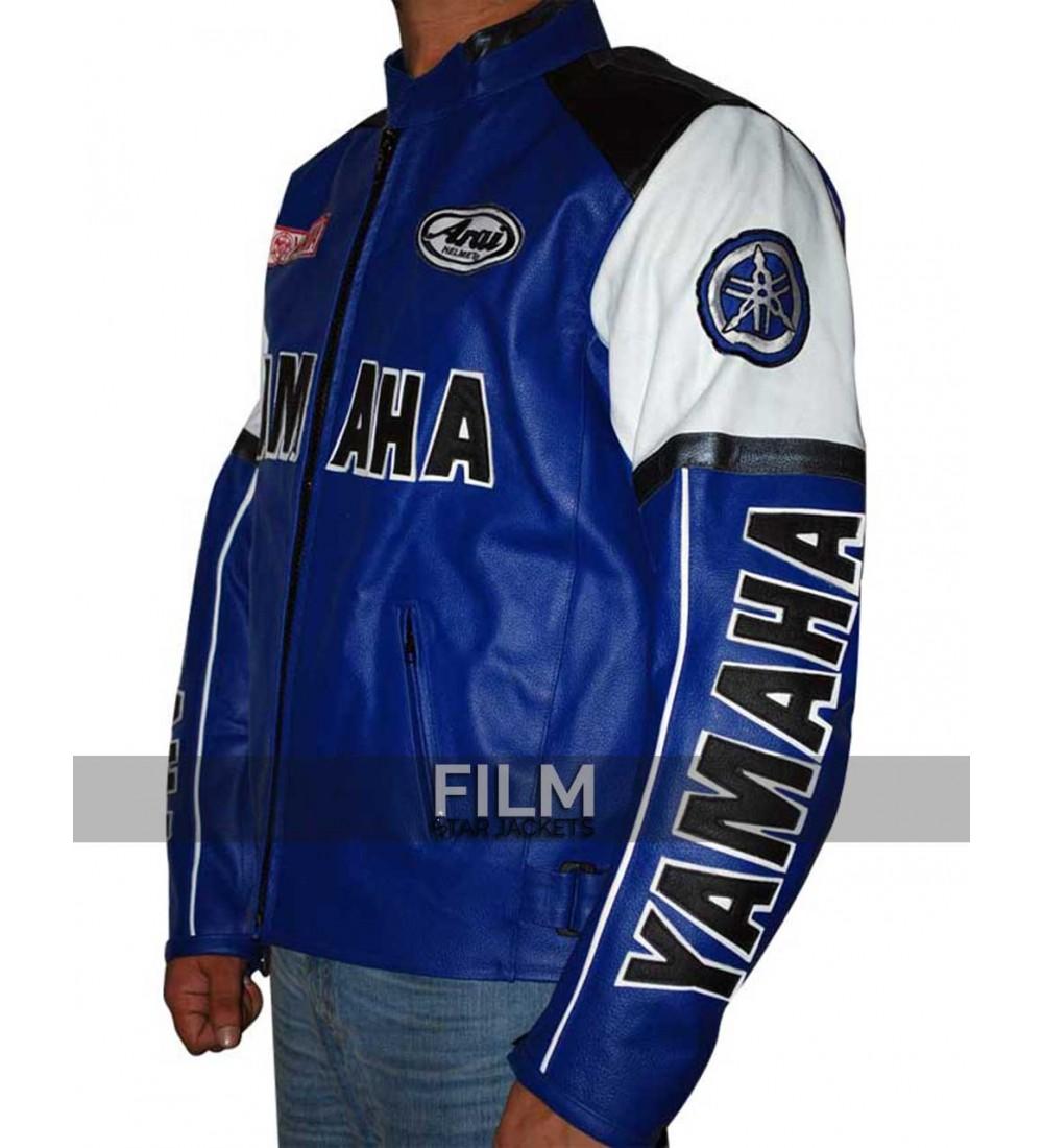 Yamaha leather motorcycle jacket