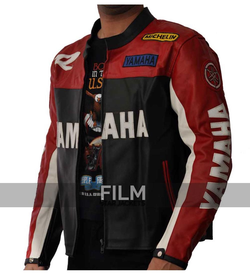 yamaha vintage motorcycle riding jacket