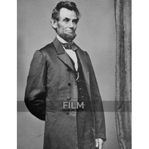 President Abraham Lincoln Black Trench Coat Costume
