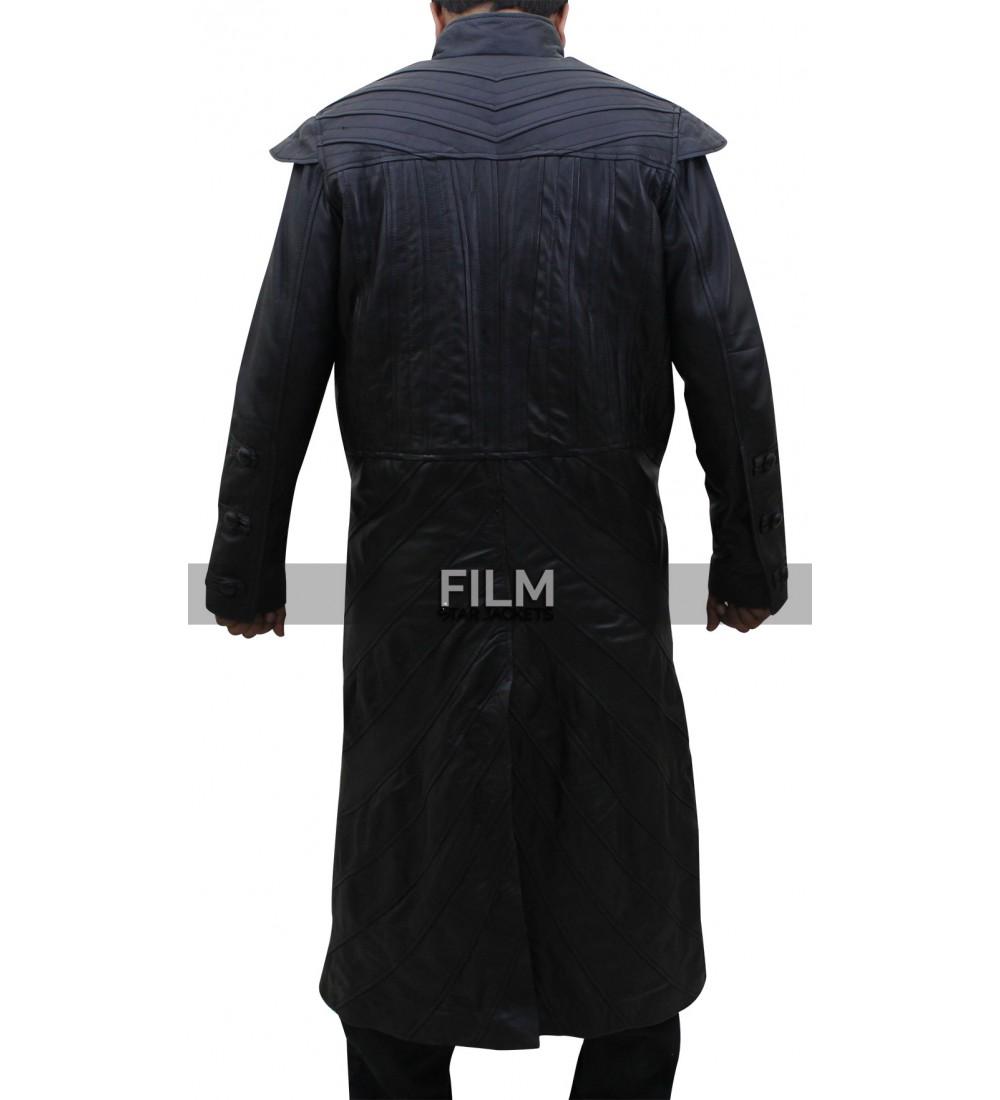 d679d368aaaf Black Sails S3 Pirate Captain Flint Leather Coat