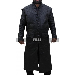 Black Sails S3 Pirate Captain Flint Leather Coat