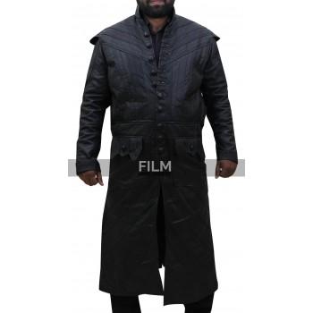 Black Sails S3 Pirate Captain Flint Leather Coat